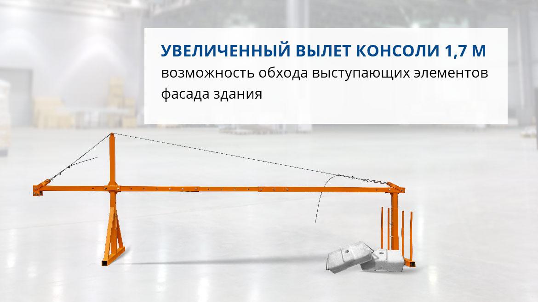 Строительная люлька ZLP-630