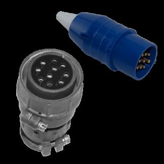 Розетка кабельная управления лебедки, 8 pin ZLP
